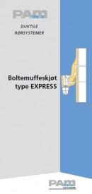 Boltemuffeskjøt type Express
